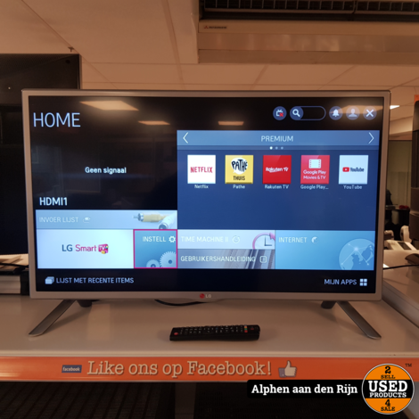 LG 32LB570V HD televisie smart