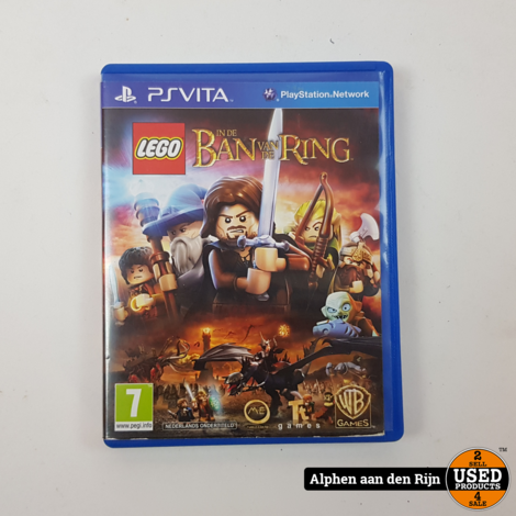 LEGO Lords of the Rings Playstation Vita