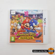 Mario & Sonic op de olympische spelen london 2012 3ds