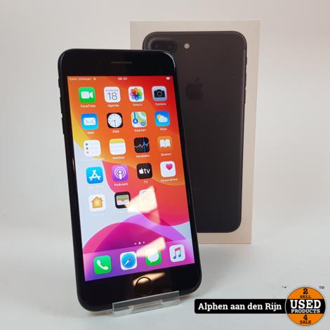 Apple iPhone 7 plus black 128gb + doos