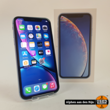 Apple iPhone XR 128gb blue met doos