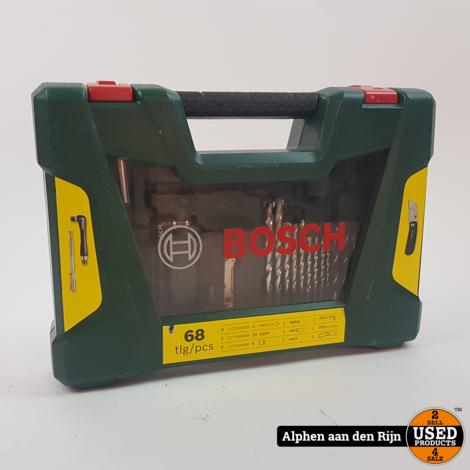 Bosch 68 delig bitjes set