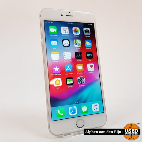 Apple iPhone 6 plus 16gb silver 82%