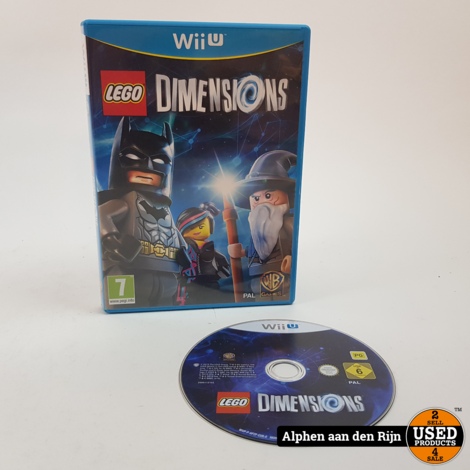 LEGO Dimension wii u zonder portal