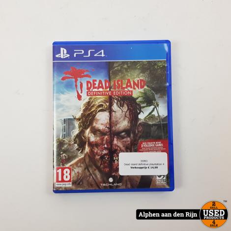 Dead island definitive playstation 4