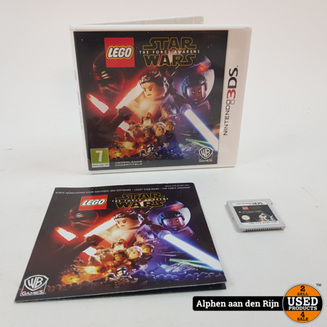 LEGO star wars force awakens 3ds