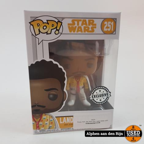 Funko POP! Star Wars Solo Lando White outfit