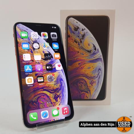 Apple iPhone XS max 64GB Silver || Nu voor € 439.99