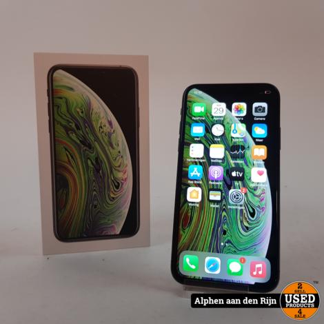 Apple iPhone Xs 256GB in doos + 3 maanden garantie accu: 88%