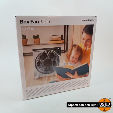 Box ventilator 30cm NIEUW
