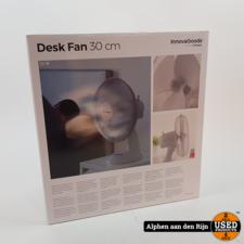 Desk ventilator 30cm Nieuw