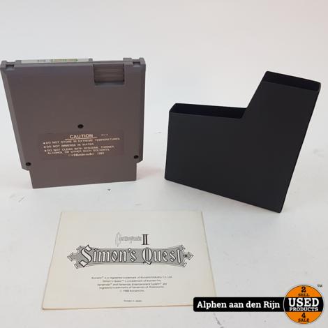 Castlevania 2 Simon's quest || NTSC || + handleiding