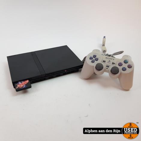 Playstation 2 slim zwart