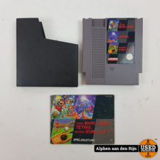 Super Mario bros / Tetris / Nintendo world cup nes