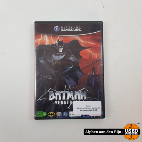 Batman vengeance gamecube