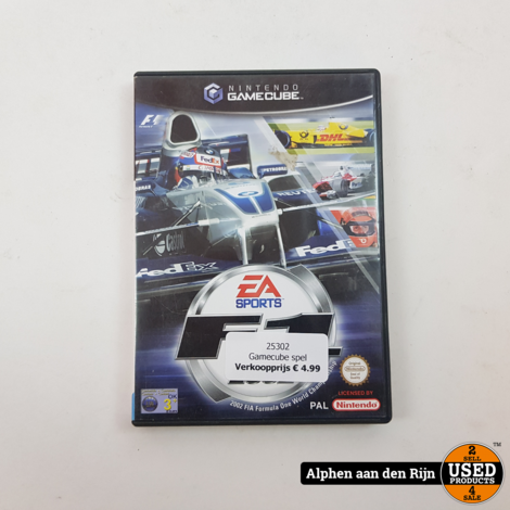 F1 2002 gamecube