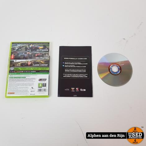 F1 2013 xbox 360 - compleet - €14.99