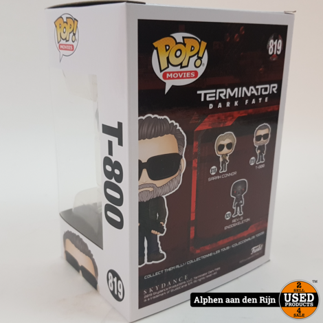 Funko POP! Movies Terminator Dark Fate T800