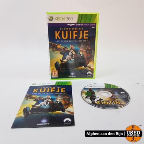 De avonturen van Kuifje Het geheim van de eenhoorn xbox 360