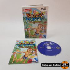 Block party 20 games Wii