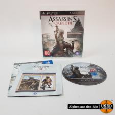 Assassins creed 3 ps3