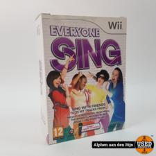 Everybody Sing Wii NIEUW