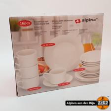 Alpina 16 stuks servies