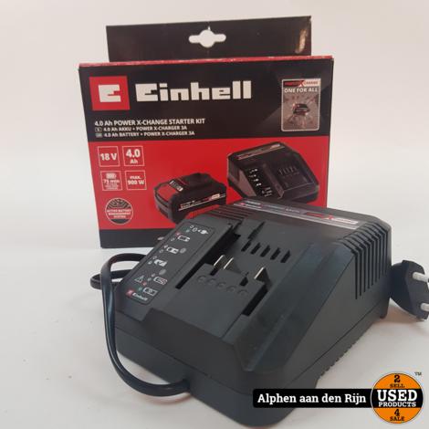 Einhell 4.0 Power X-change lader