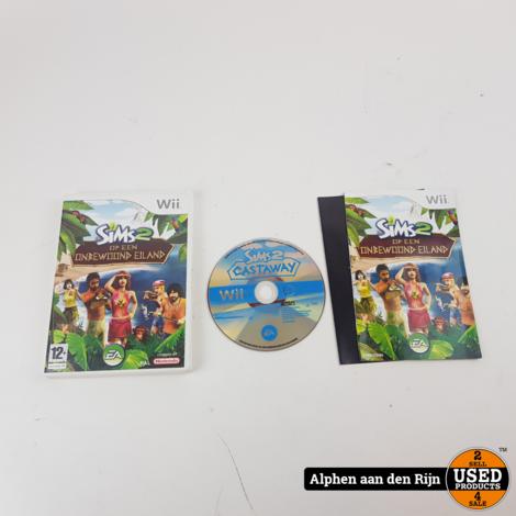 De sims 2 op een onbewoond eiland Wii