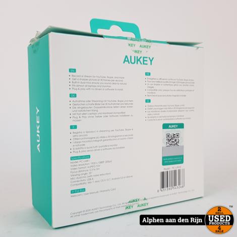 Aukey PC-LM1E Full HD webcam usb