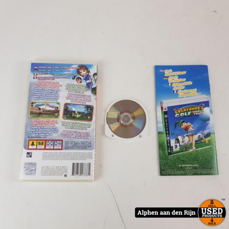 Everybody's Golf 2 PSP