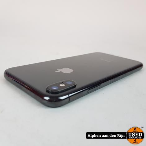Apple iPhone X 64GB accu: 86% in doos