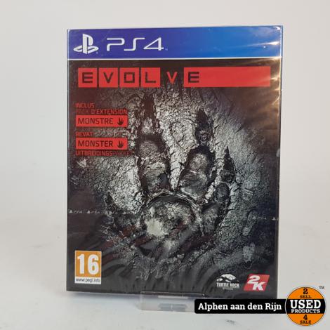 Evolve ps4 nieuw
