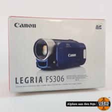 Canon Legria FS306 Camera in doos