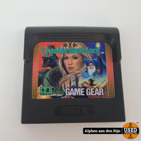 Crystal Warriors GameGear || NU: €12.99