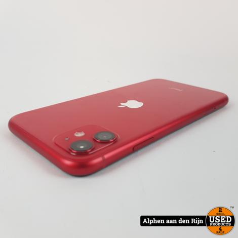 Apple iPhone 11 128gb red 87%