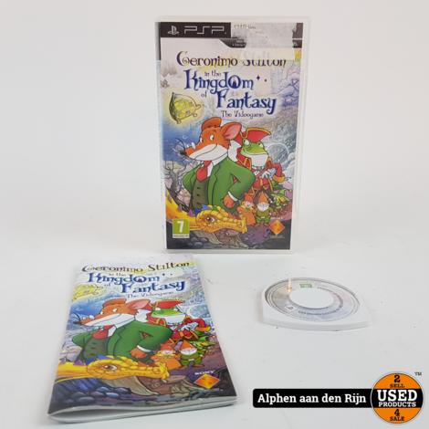 Geronimo stilton in the Kingdom of fantasy PSP