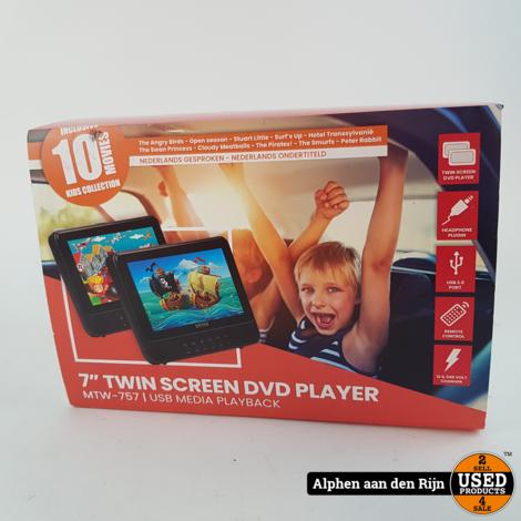 Denver mtw-757 dubbele dvd speler in de auto NIEUW