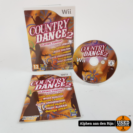 Country dance 2 wii