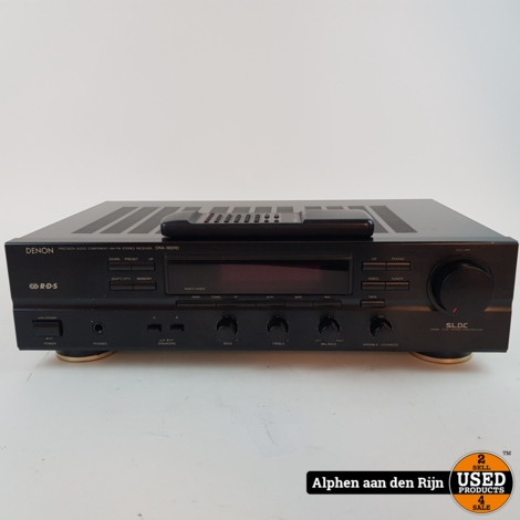 Denon DRA-365RD receiver + ab