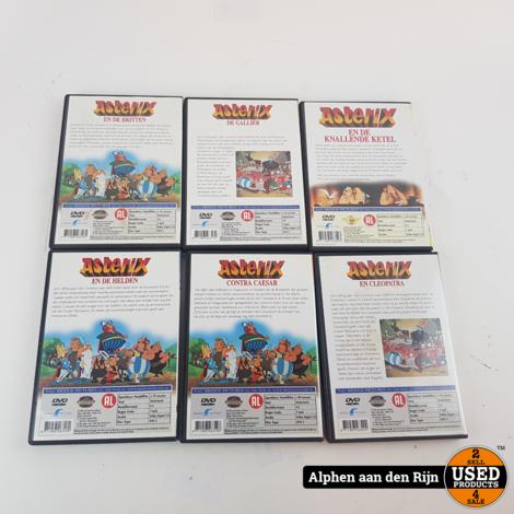 Asterix 6 dvd box