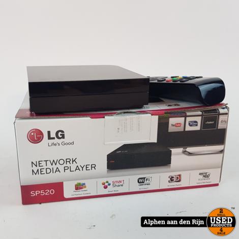 LG SP520 Network media Player