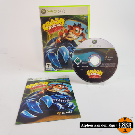 Crash of the Titans xbox 360