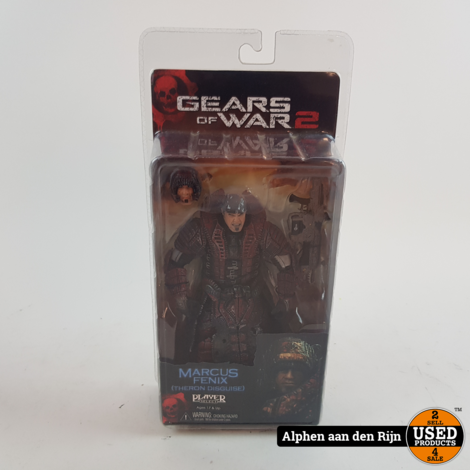 Gears of war 2 Marcus fenix (theron disguise) NECA