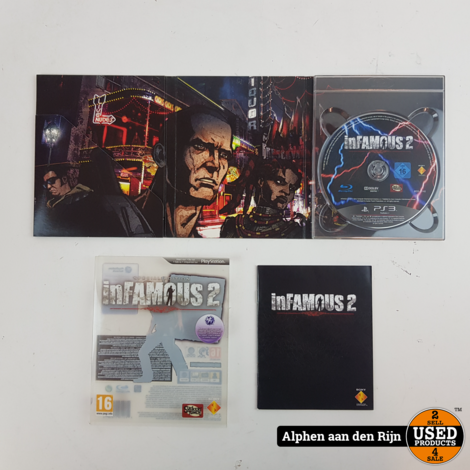 inFamous 2 Special edition ps3