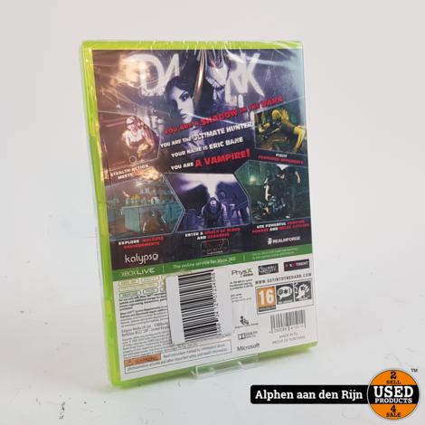 Dark xbox 360 NIEUW
