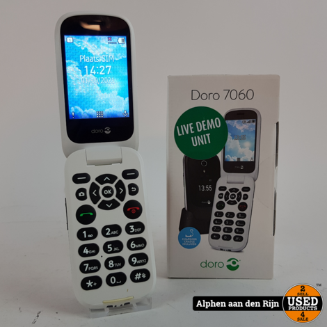Doro 7060 Senioren telefoon 4g    4gb