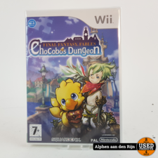 Final Fantasy Fables Chocobo Dungeon Wii