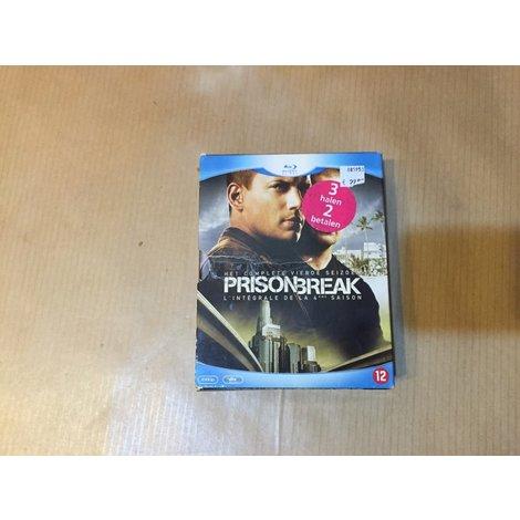 Prisonbreak complete vierde seizoen blu-ray seizoen 4
