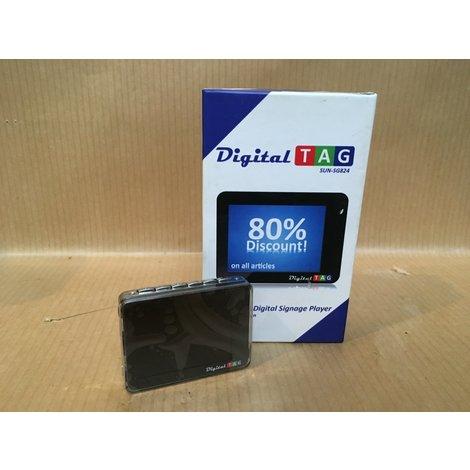 Nieuw! Sun SG-824 digitaal naamplaatje digital tec